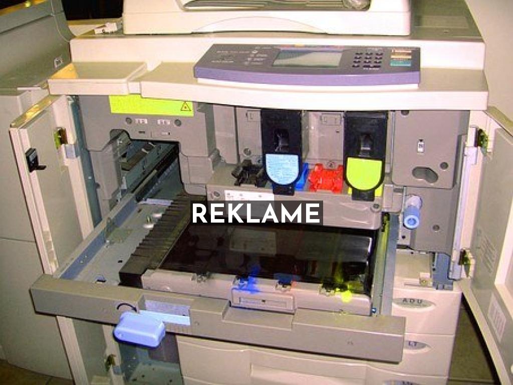 Laserskrivare för snabb och snygga utskrifter